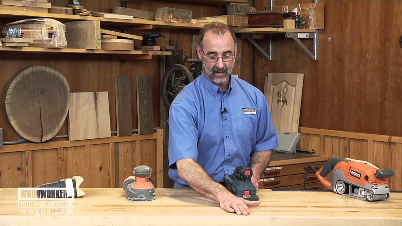 Different Types of Electric Sanders for Woodworking