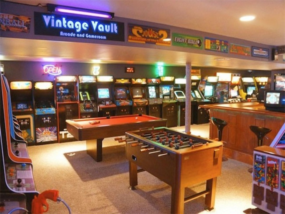 5 basement game room ideas october 2017 - toolversed
