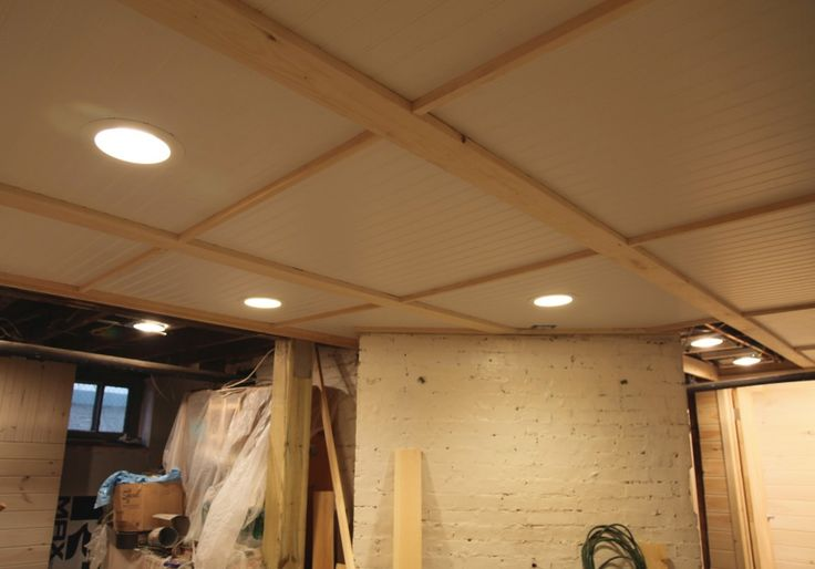 7 Cheap Basement Ceiling Ideas September 2019 - Toolversed