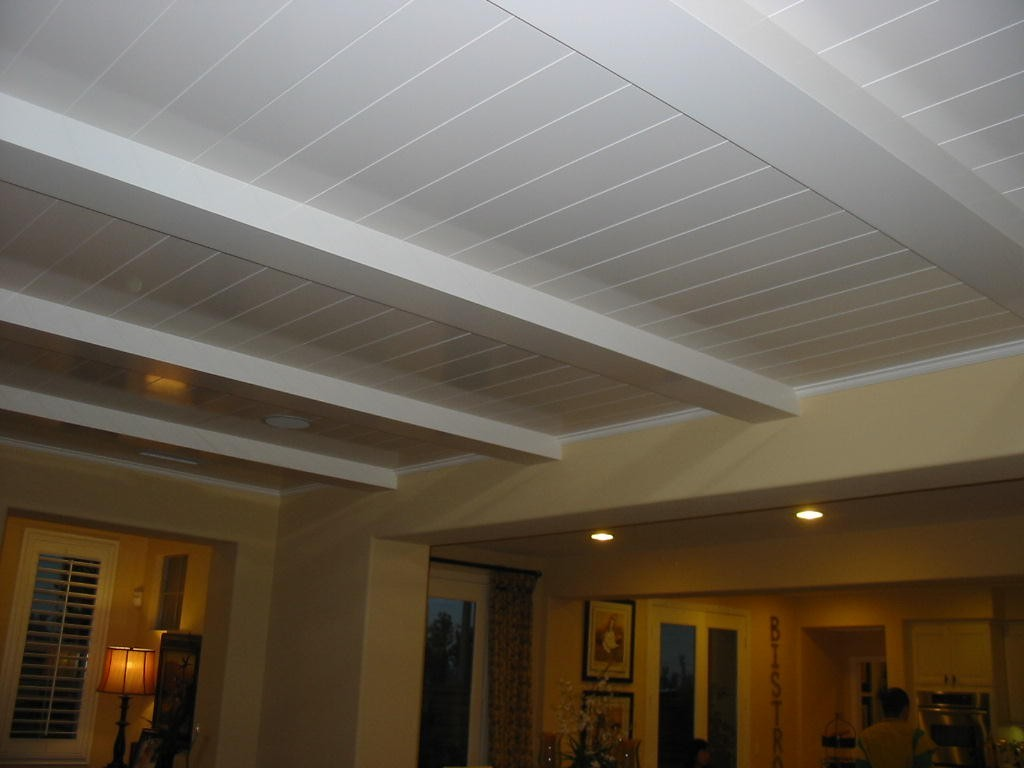 New Finished Basement Drop Ceiling