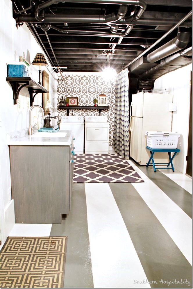 Paint Your Concrete Floors