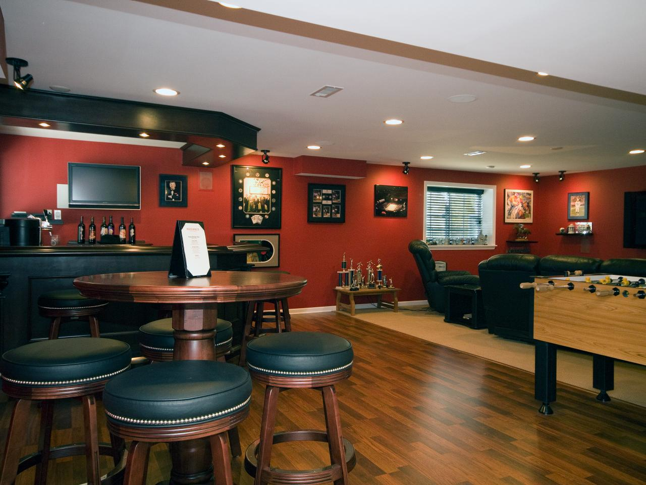 basement recreation room ideas