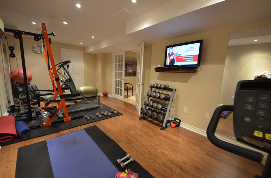 Home Gym Design: 6 Basement Rec Room Ideas October 2019