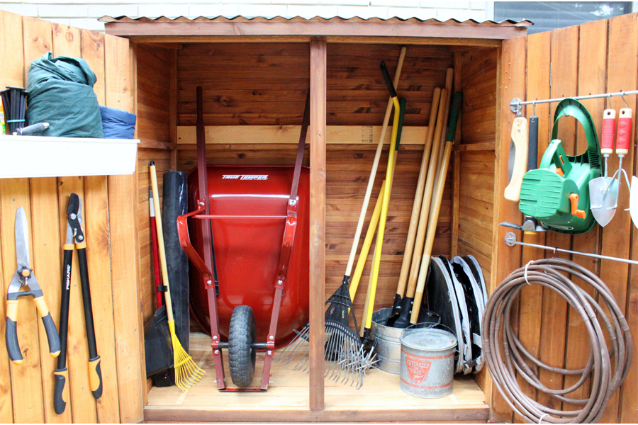 How to Build a Shed in One Weekend