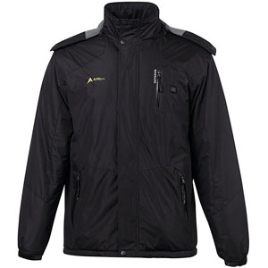 AdirPro Men's Soft Shell Heated Jacket
