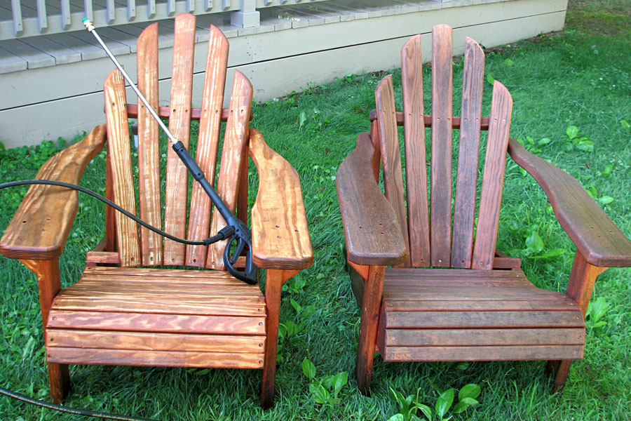 Beau How To Restore And Repaint Adirondack Chairs