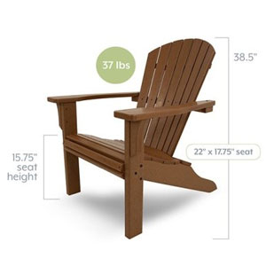 7 Popular Styles of Polywood Adirondack Chairs