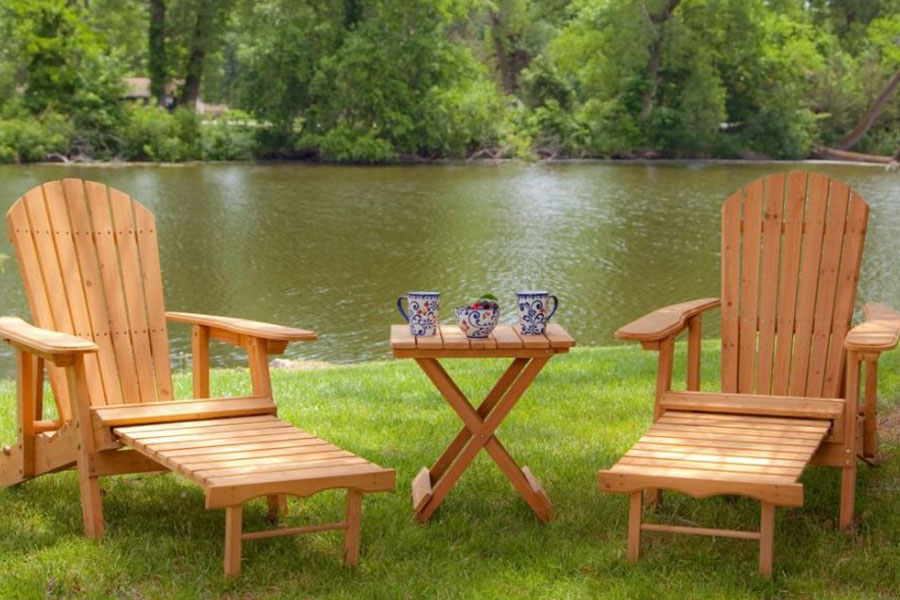 Different Wood Types for Adirondack Chairs